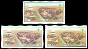 Saudi Arabia 2000 Scott #1303-1305 Mint Never Hinged