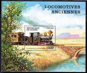1997 Guinea 1665/B512 Locomotives 7,00 €