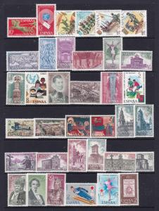 Spain a MNH lot from 1992