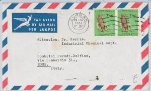 SOUTH AFRICA  -  POSTAL HISTORY - COVER to Italy 1964 - AGRICOLTURE: Corn