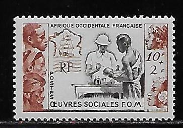 French West Africa B3 Tropical Medicine single MNH