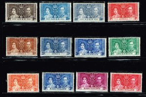 UK STAMP 1937 Coronation ISSUE COLLECTION LOT MNH/OG STAMP COLLECTION LOT #S7