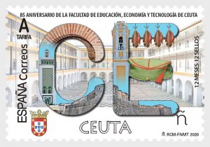 Spain 2020, 12 Months, 12 Stamps - Ceuta MNH**