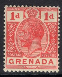 GRENADA SG91 1913 1d RED MTD MINT