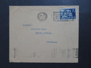 Uruguay 1930 Cover to Venezuela  - Z8128