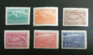 Albania Sc# 361-366 Complete Set Mint Never Hinged MNH