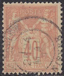France 95 Peace and Commerce 1880