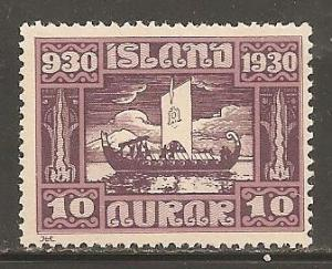 Iceland  SC 155  Mint Never Hinged