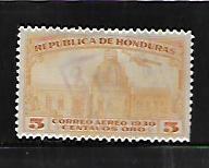 HONDURAS, C41, USED, NATIONAL PALACE