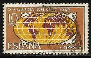 Spain 1963 Scott# 1172 Used