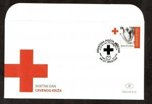 2012    BOSNIA  -  SG: C340  - RED CROSS DAY FIRST DAY COVER