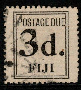 FIJI SGD4 1917 3d POSTAGE DUE FINE USED