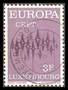 Luxembourg 512 Used VF