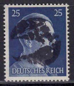 Germany Soviet Zone SBZ - LOCAL BLOSENBERG 25Pf HITLER head - Expertized Richter