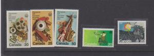 CANADIAN OLYMPICS STAMPS MNH   LOT#723