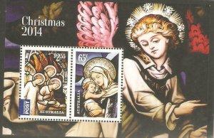 2014   AUSTRALIA  -  SG.  MS 4281  -  CHRISTMAS  -  MNH