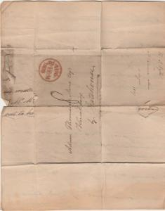 GREAT BRITAIN 1809 ENTIRE LETTER -2 SHEETS