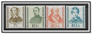 Germany #B344-B347 Semi-Postal MH