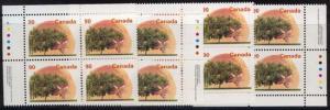 Canada USC #1374 Mint MS IB's 1995 90c Elberta Peach Peterborough Paper VF-NH