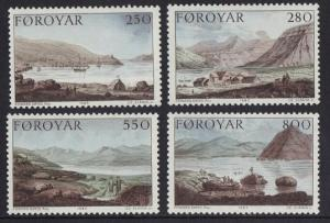Faroe Islands 1985 MNH Stanley ` s expedition complete