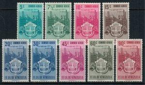 Venezuela #C338-46*  CV $58.25