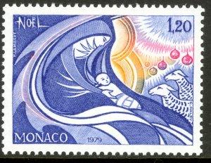 MONACO 1979 CHRISTMAS Issue Sc 1196 MNH