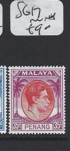 MALAYA PENANG  (P1705B)  35C  KGVI  SG17   MNH