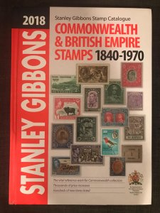 2018 Stanley Gibbons Commonwealth & British Empire Stamps, 1840-1970