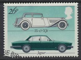 Great Britain  SG 1200 SC# 1004 Used / FU with First Day Cancel-  Motor Cars