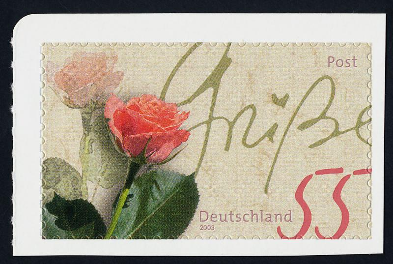 Germany 2228 MNH Flowers, Roses