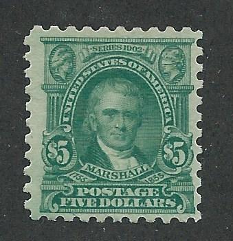 480 MNH,  $5 Marshall,  scv: $375