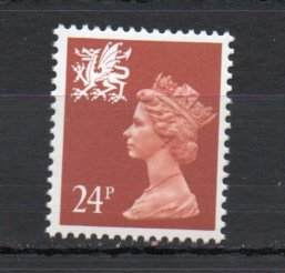 Great Britain - Wales WMMH45 MNH