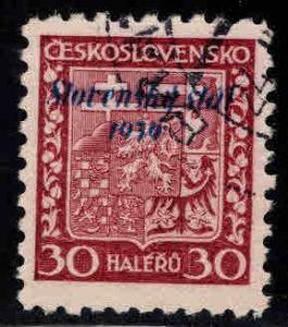 Slovakia Slovenska Scott 6 Used