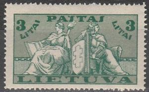 Lithuania #293 MNH