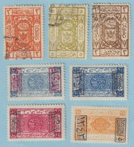 SAUDI ARABIA - HEJAZ INTERESTING MINT HINGED OG * AND USED COLLECTION - W868
