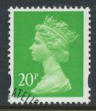 Great Britain SG Y1685 Sc# MH211    Used with first day cancel - Machin 20p