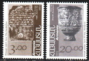 Turkmenistan. 1993. 208-9 from the series. Archeology, museum exhibits. MNH.