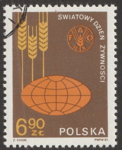 Poland stamp, Scott# 2487, used, VF, single stamp, #2487