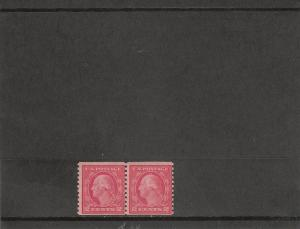 UNITED STATES *492 MNH PAIR 2019 SCOTT SPECIALIZED CATALOGUE VALUE $45.00