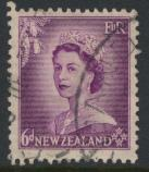 New Zealand SG 729 SC# 294 Used  see details 1953 QE II  Definitive Issue