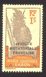 French Equatorial Africa 1 MHH