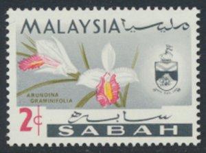SABAH SG 425  SC# 18 MVLH* Flower  see scans /details