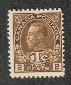 Canada Sc#MR4 M/NH/F, War Tax Type II, Cv. $62.50