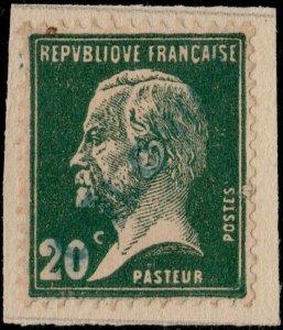 FRANCE Yv.172 20c Pasteur Surch. COLONIAS Spécimen UPU (Col. Portugaise de Goa)