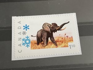 Canada Post Picture Postage *Wild Elephant * $1.10 denomination