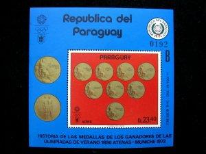 PARAGUAY - SCOTT# C350 - MNH - CAT VAL $15.00