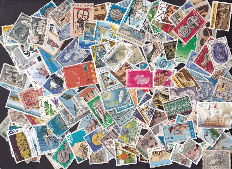 Greece collection builder 180+ stamps