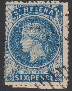 ST HELENA  An old forgery of a classic stamp................................D349