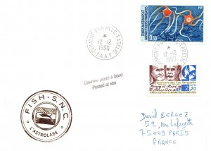 1990 French Southern & Antarctic Territory, Antarctic Cachet and/or Cancel  #113