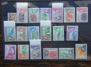 Dominica 1954 - 1962 set to $2.40 LMM SG140 - SG158